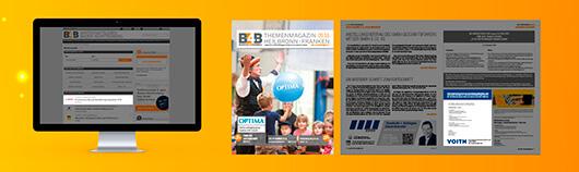 Das erste B4B Themenmagazin